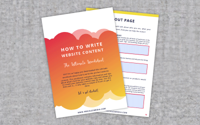 Interactief werkboek: 'How to write website content'